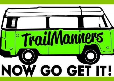 TrailManners Now Go Get It Logo